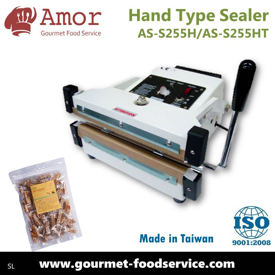 High quality reliable supplier wide sealing hand press impulse sealer