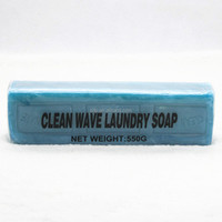 Household Use Low Price No Transparent Blue Bar Laundry Soap