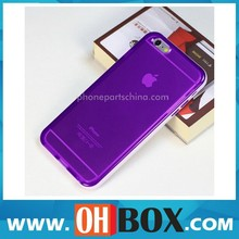 2014 best seller for iphone 6 plus TPU+PC case purple case good price high quality