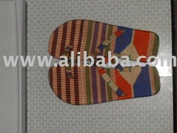 kente slippers