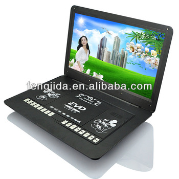 portable dvd player with USB/FM 16:9 TFT Screen
