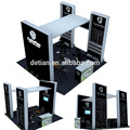 aluminum trade show display rack 6x6 exhibition booth