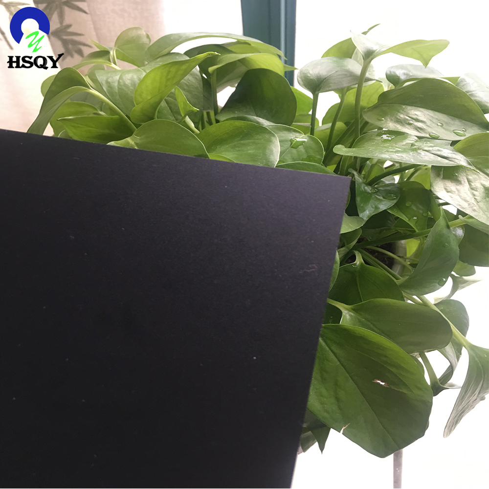 2017 New esd black rigid pvc sheet With Good Service