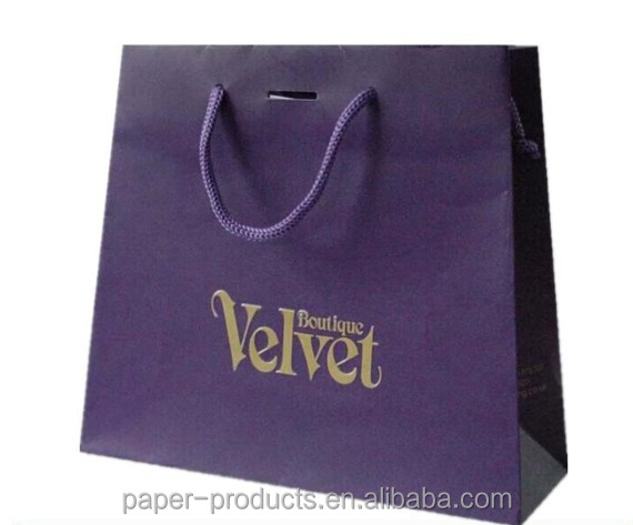 customized luxury trapezoid bridal veils paper shopping bags