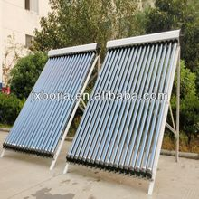 2014 evacuated 18 tube solar hot water heater collector