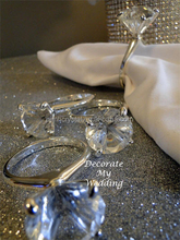 crystal diamond napkin ring for ornament MH-CJ007
