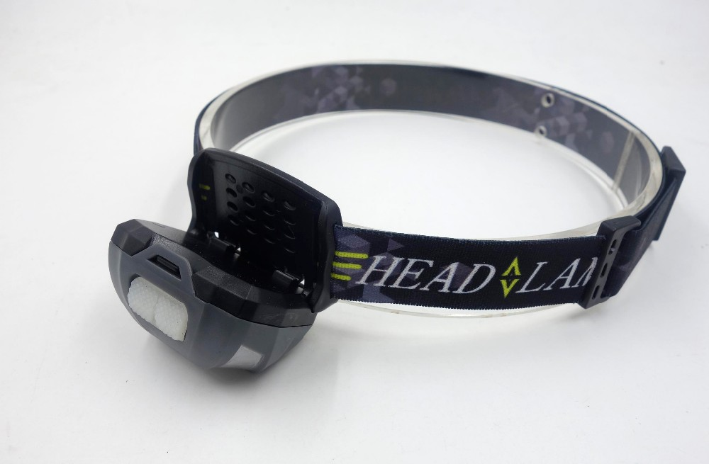Waterproof shockproof USB charging camping led headlamp