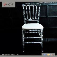 Import Stacking Crystal High Quality Plastic Dining Chair