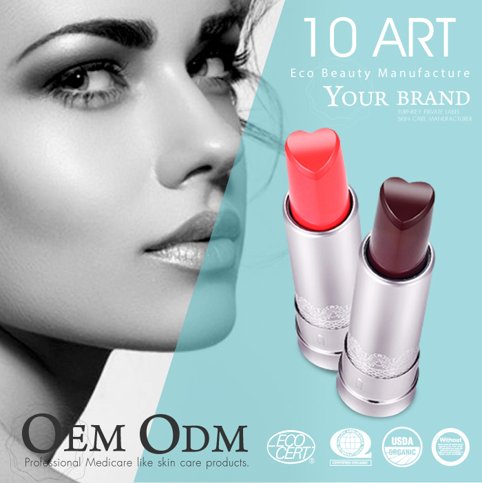 Cosmetic brand Matte liquid private label lipstick lipgloss