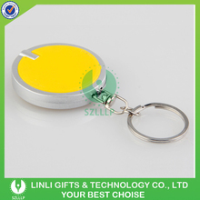 Advertising Cheapest Led Keychain Light, UV Light Keychain, Portable Keychain