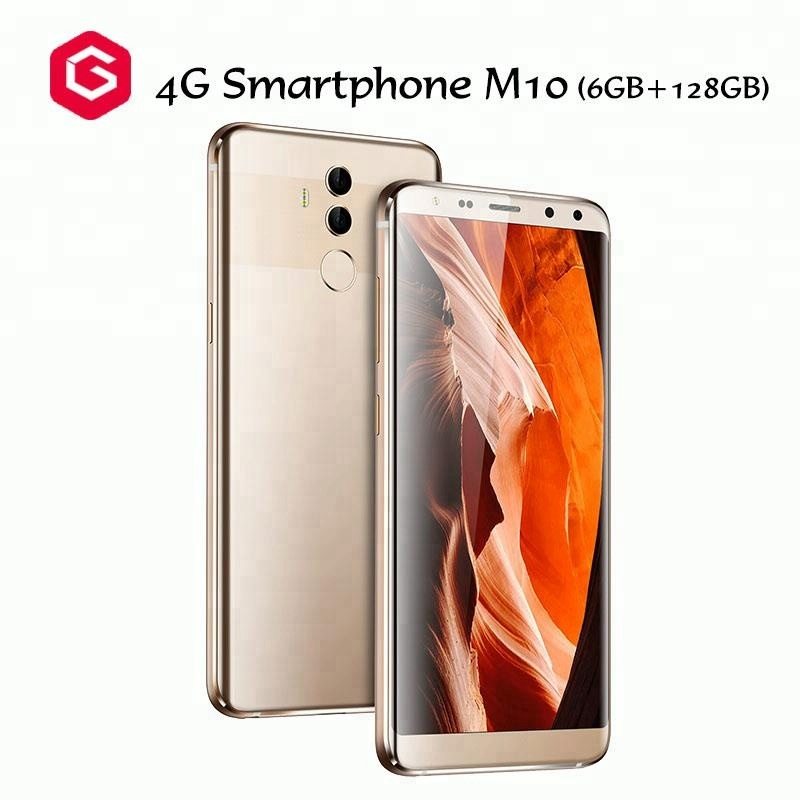 6GB+128GB New Android 7.0 5.72 inch <strong>M10</strong> Unlocked 4g China Smartphone