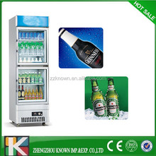 portable refrigerated produce small display cooler