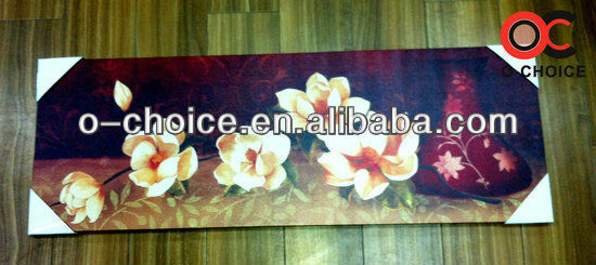 WK-68 Hand Painted Modern Canvas Art Picture Flower Painting