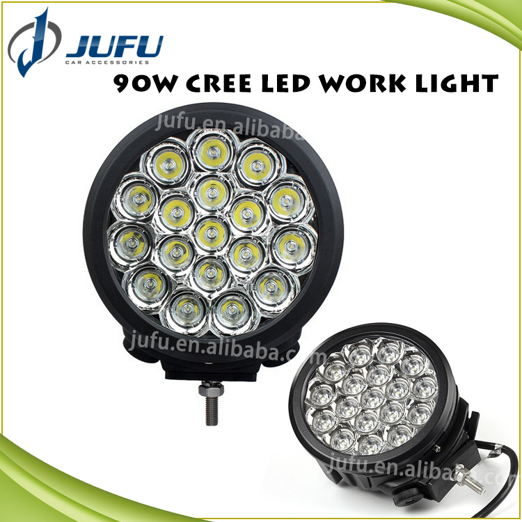 67 inches 90W Auto Vehicle Car Work LED Work Light, Mount for Jeep / Van / Wagon / ATV / SUV / Pickup / Off-road