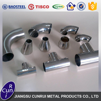 Best quality different types pipe fittings connect pipe for wholesale