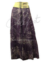 100% Cotton Wide Open Legs Trouser,Ladies Palazzo Pants with floral printed