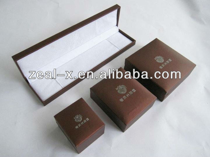guangdong newest designed book shape jewellery box with flocking and sponge