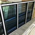 China Supplier Compact interior canberra window shutters/toughened glass louver