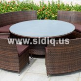 SAR0026-Outdoor rattan furniture rattan sofa furniture sofa set