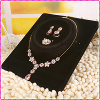Top sale jewelry necklace display card customized