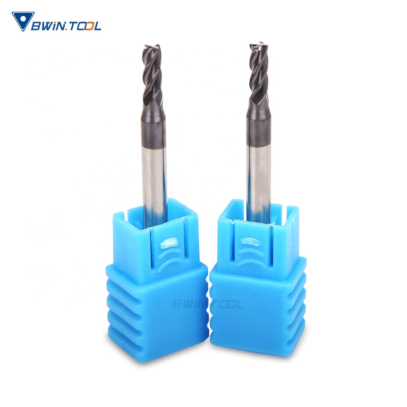 Wholesale Price Tungsten Solid <strong>Carbide</strong> 4 Flute Coated Square End Mill cutter