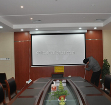 100 inch 16:9 electric projection screen include remote control