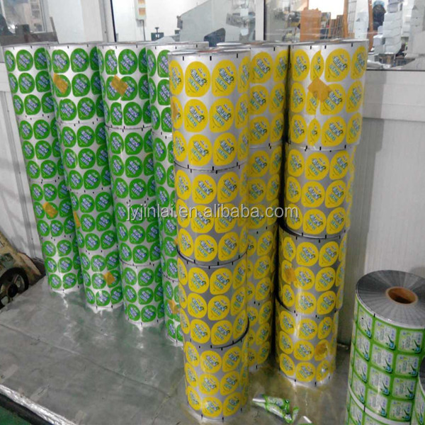 high quality aluminium laminated plastic film roll