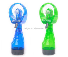 wholesale 2*AA battery portable handheld mini water spray misting fan