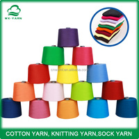 free sample open end cotton yarn, CVC,TC,china high quality sock yarn