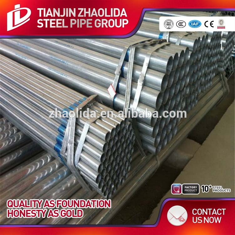 astm a120 galvanized steel pipe gi hollow section galvanized corrugated pipe