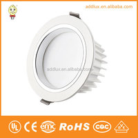 220V AC No Dimming 15W Warm White / Cool White SMD Led Downlight With Energy Star CE UL