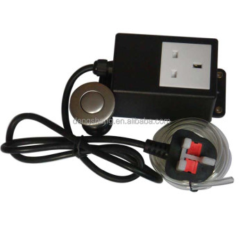 british food garbage disposal external air switch
