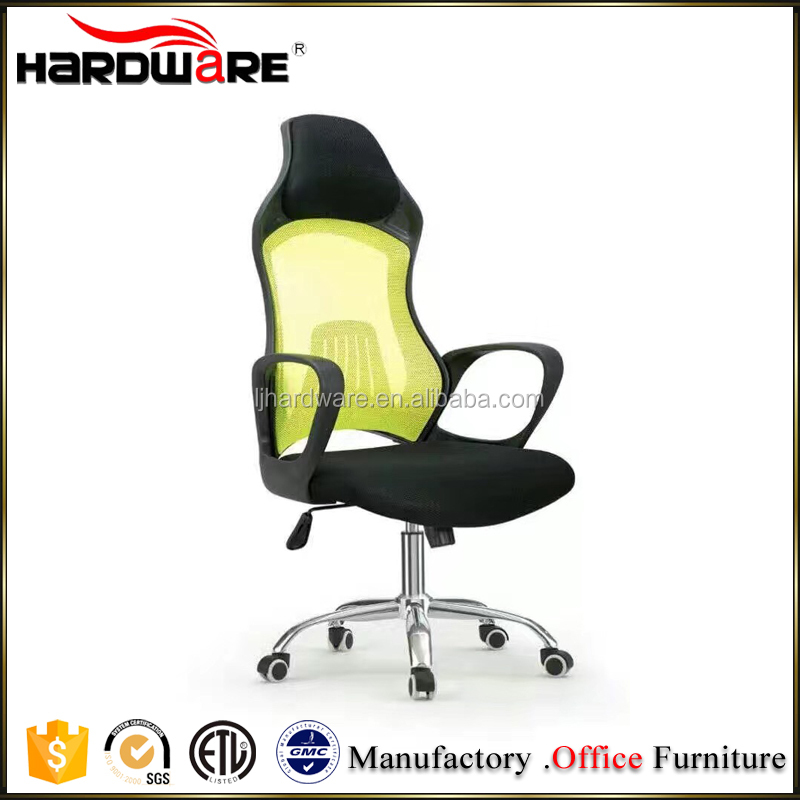 mesh back support beautiful racing style office chair with wheels