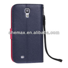 Deluxe PU Leather Magnetic Protective Case For Samsung Galaxy S4 mini