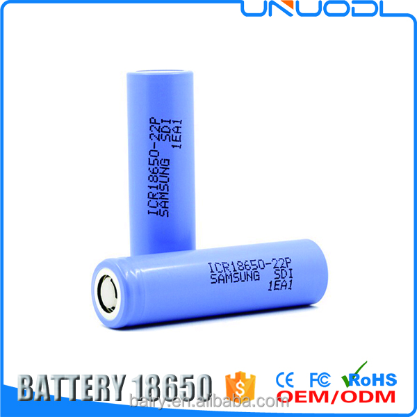 High quality primary icr18650 22P 18650 2200mah battery