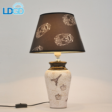 Langde Brand New Clock Shade With Usb Port Ted Tripod Touch Sensor Led Table Lamp With Mini Speaker