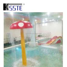 Theme park equipment spray mushroom waterfall water fountain toys for kids