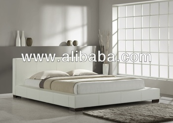 Bedroom Furniture / Faux Leather PU Bed / Galax Bed