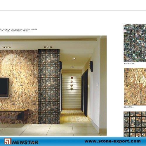 Gold perlmutt mosaik fliesen mosaik produkt id 468327723 - Mosaik fliesen gold ...