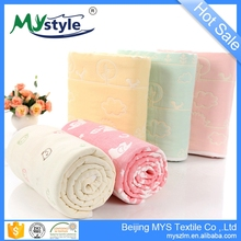 Disposable 100% cotton soft baby blanket swaddle muslin towel wholesale