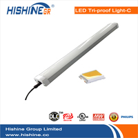Hishine walmart 2ft ip65 led tri-proof light 20w