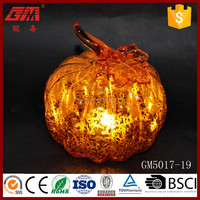 artificial glass pumpkin for sale and decorations