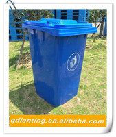 360 Liter Dumpster Waste Bins Plastic Container Packaging & Printing
