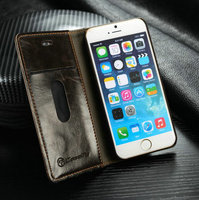 Top sale alibaba express book style cover case waterproof dust proof phone covers for iPhone 6