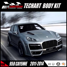 classic high quality good fitment TA magnum style wide body kit fiber glass for 2011-2014 CAYENNE 958 porsche