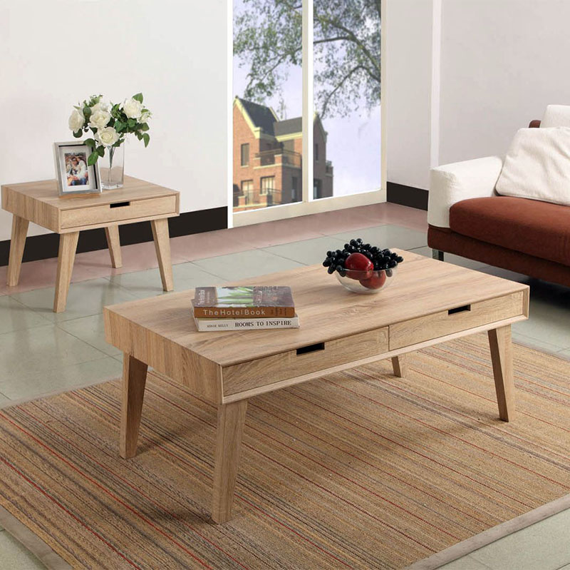 Scandinavian Furniture No.1 Selling Square Wooden Coffee <strong>Table</strong> with Drawers