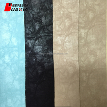 Top quality new design flocking synthetic leather in cars