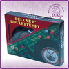 "10"" deluxe roulette wheel game set"