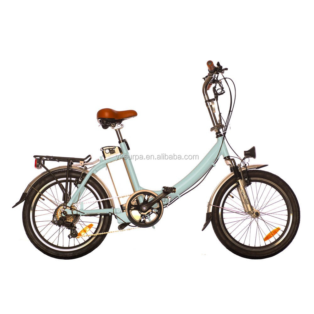 20inch alloy frame 250w lithium battery portable electric bike