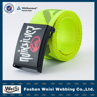 manufacture new fashion polyester nylon belt for students